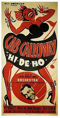 Digital Art - Cab Calloway Hi De Ho by ReInVintaged