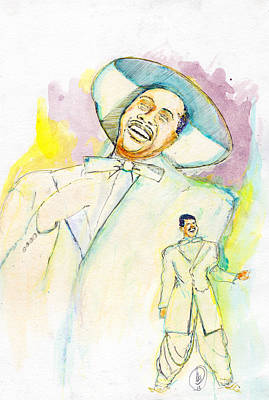 Painting - Cab Calloway by Howard Barry
