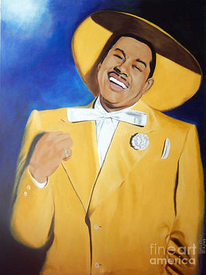 Cab Calloway In Color Art Print by Chelle Brantley