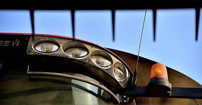 Photograph - Cab Lights 6727 by Jerry Sodorff