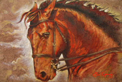 Caballo I Art Print by J- J- Espinoza