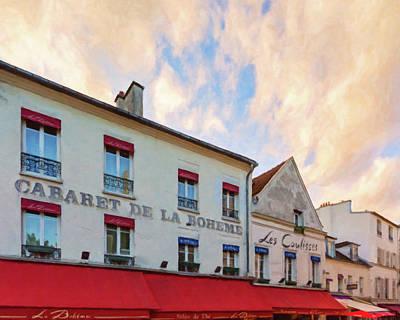 Photograph - Cabaret - Montmartre, Paris by Melanie Alexandra Price