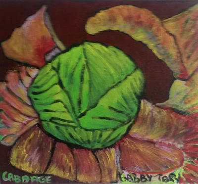 Painting - Cabbage by Gabby Tary
