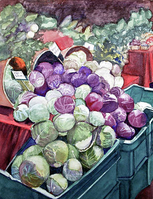 Painting - Cabbage Patch by Lynne Atwood