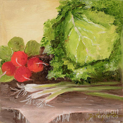 Painting - Cabbage by Pati Pelz