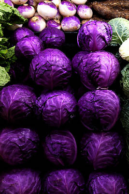 Digital Art - Cabbages by David Blank