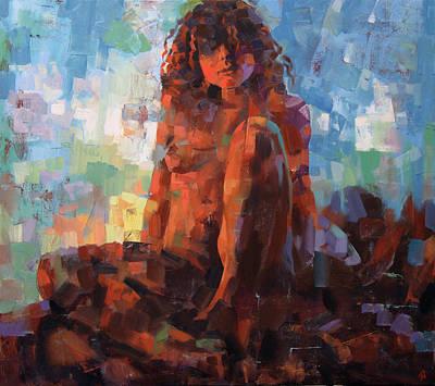 Atkinsky Painting - Cabernet by Alexander Ilichev