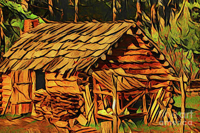 Photograph - Cabin 20718 by Ray Shrewsberry