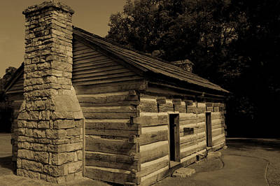Photograph - Cabin At The Hermitage by James L Bartlett