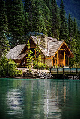 Photograph - Cabin At The Lake by Thomas Nay