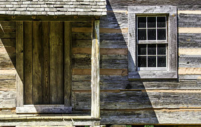 Photograph - Cabin Door 02 by Jim Dollar