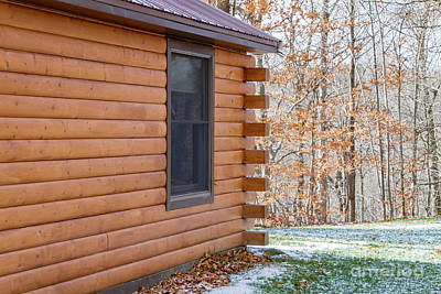 Photograph - Cabin Exterior 37 by William Norton