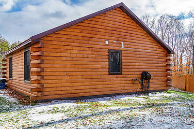 Photograph - Cabin Exterior 38 by William Norton