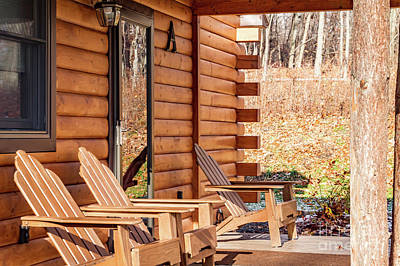 Photograph - Cabin Exterior 42 by William Norton