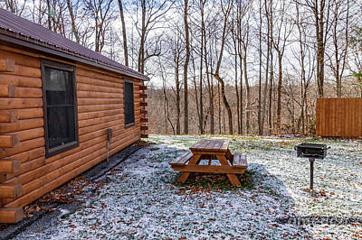 Photograph - Cabin Exterior 44 by William Norton