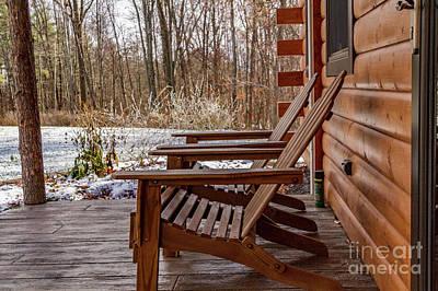 Photograph - Cabin Exterior 46 by William Norton