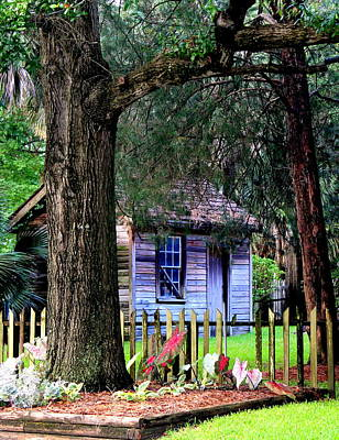 Photograph - Cabin In Seville by Faith Williams