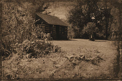 Photograph - Cabin In The Clearing by Scott Kingery
