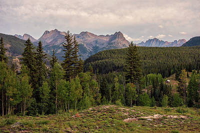 Photograph - Cabin In The Mountains by Loree Johnson