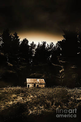 Abandoned House Wall Art - Photograph - Cabin In The Woodlands  by Jorgo Photography - Wall Art Gallery