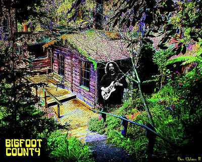 Photograph - Cabin In The Woods In Bigfoot County by Ben Upham