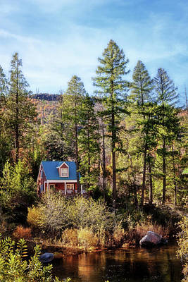 Photograph - Cabin In The Woods by Sennie Pierson