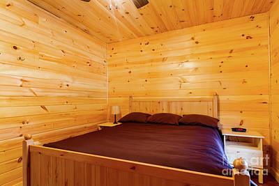 Photograph - Cabin Interior 11 by William Norton