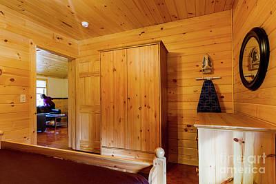 Photograph - Cabin Interior 15 by William Norton