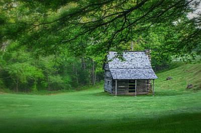 Photograph - Cabin On The Blue Ridge Parkway - 1 by Joye Ardyn Durham