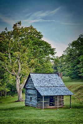 Photograph - Cabin On The Blue Ridge Parkway - 10 by Joye Ardyn Durham