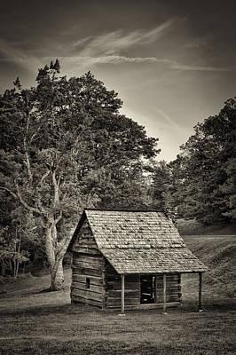 Photograph - Cabin On The Blue Ridge Parkway - 11 by Joye Ardyn Durham