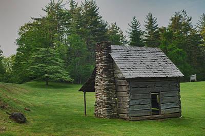 Photograph - Cabin On The Blue Ridge Parkway - 13 by Joye Ardyn Durham