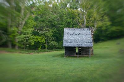 Photograph - Cabin On The Blue Ridge Parkway - 15 by Joye Ardyn Durham