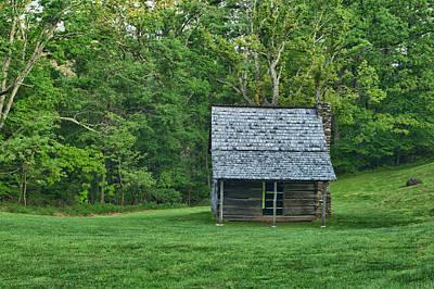 Photograph - Cabin On The Blue Ridge Parkway - 8 by Joye Ardyn Durham