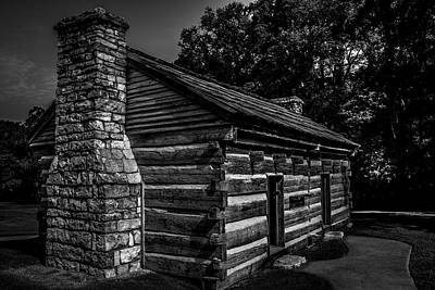 Photograph - Cabin On The Grounds At The Hermitage by James L Bartlett