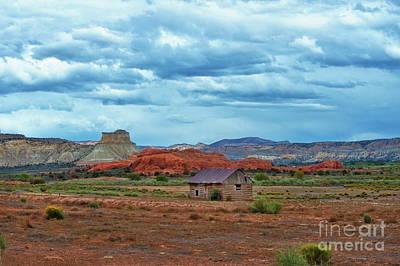 Photograph - Cabin On The High Plains by David Arment