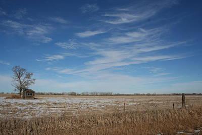 Photograph - Cabin On The Prairie by Martha Johnson