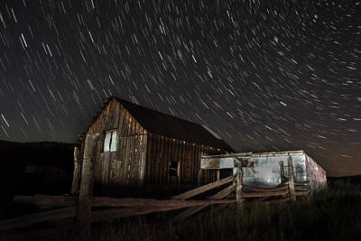 Feild Photograph - Cabin Stars by Hudson Marsh