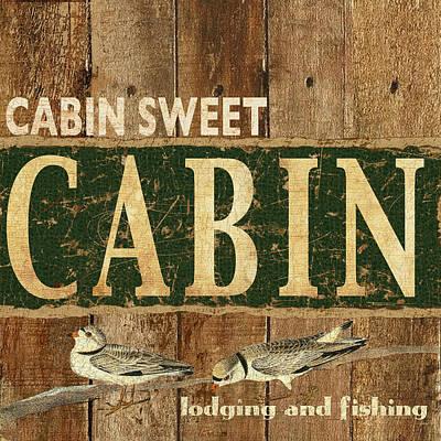Cabin Sweet Cain Art Print