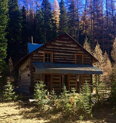 Photograph - Cabin The Canyon by Jennifer Lake