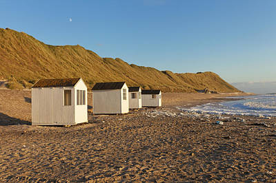 Photograph - Cabins By The Beach by Mike Santis