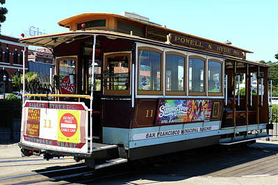 Photograph - Cable Car by Christiane Schulze Art And Photography