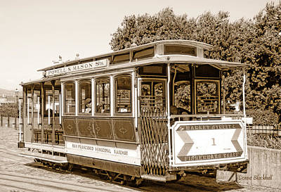 Photograph - Cable Car by Donna Blackhall