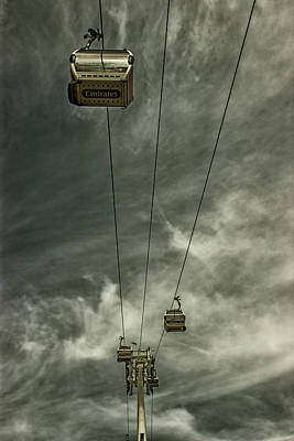 Alcatraz Photograph - Cable Car by Martin Newman