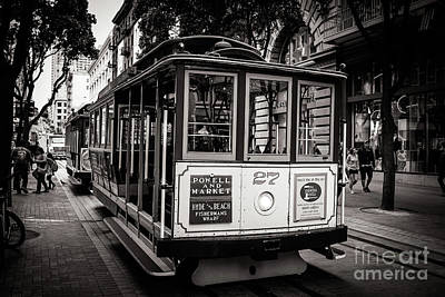 Suggestive Photograph - Cable Car by Mirko Chianucci