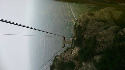 Photograph - Cable Car  by Moshe Harboun