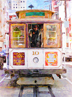 Painting - Cable Car No. 10 by Chris Armytage