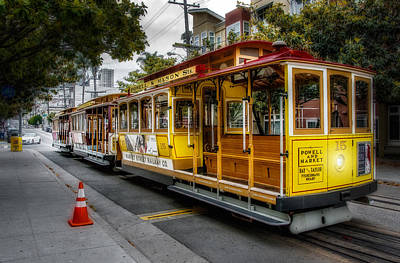 Photograph - Cable Car  by Patrick Boening