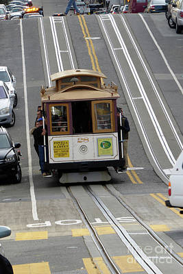 Photograph - Cable Car by Steven Spak