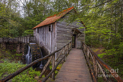 Photograph - Cable Grist Mill by Anthony Heflin